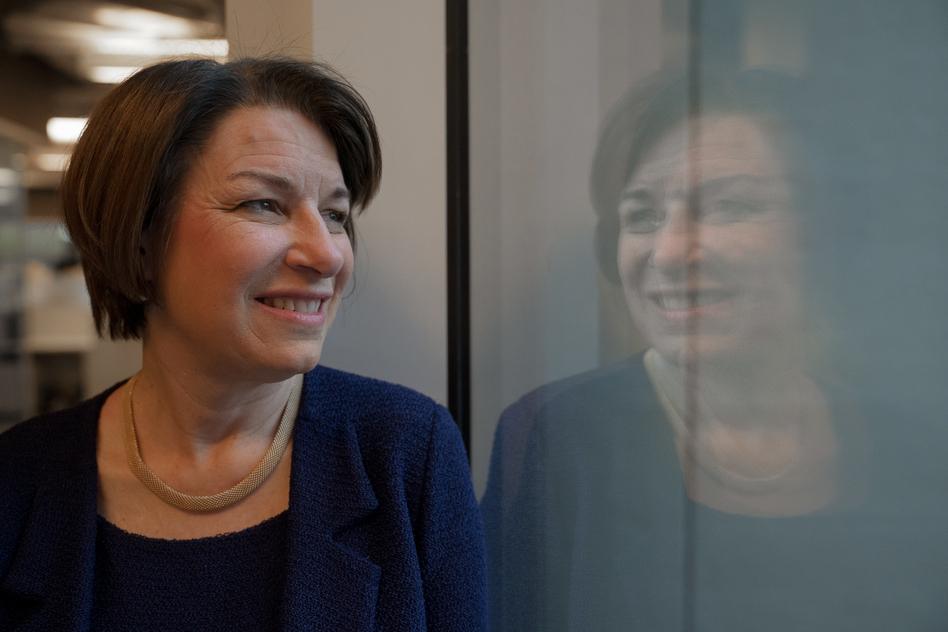 Amy Klobuchar (Amr Alfiky/NPR)