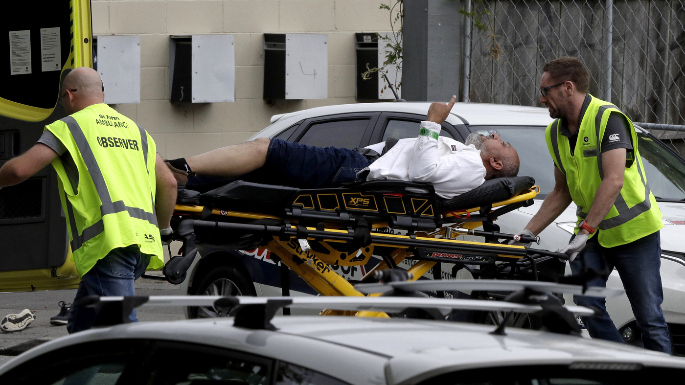 49 Dead In 'Terrorist Attack' At 2 Mosques In Christchurch