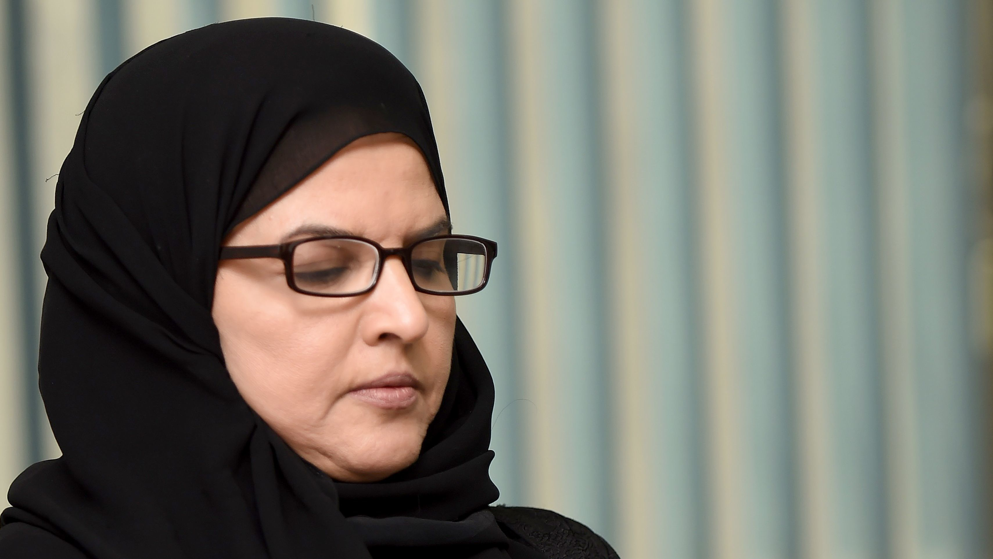 Saudi activist and campaigner Aziza al-Yousef, pictured in 2016, is on trial this week in the capital, Riyadh. She has been detained since last May.