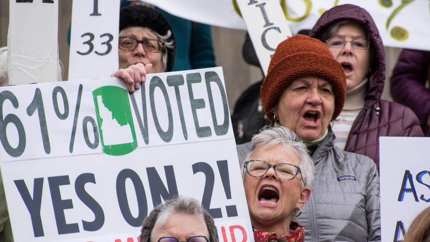 Idaho Voters Speak Up As Lawmakers Work To Make Ballot Initiative Process Harder