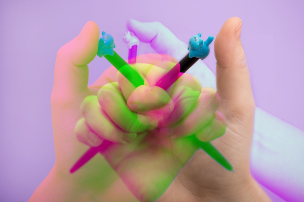 The sound of a retractable pen clicking can trigger strong emotions in people with misophonia.