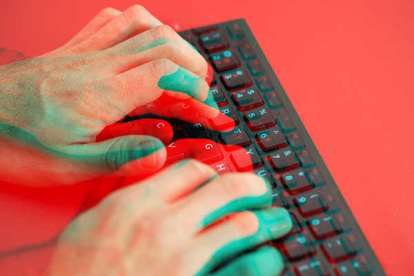 Repetitive sounds like typing on a keyboard or fingers tapping on a table can be triggering.