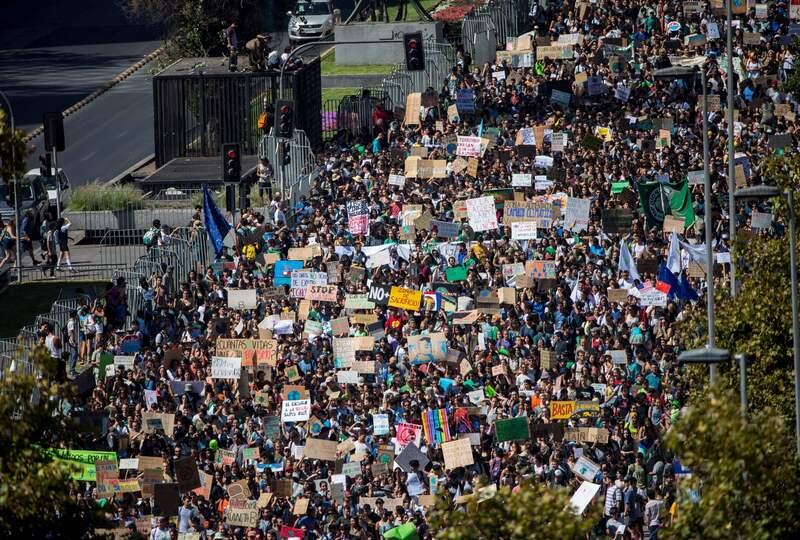 Photos: Youth Climate Change Demonstrations Across The World