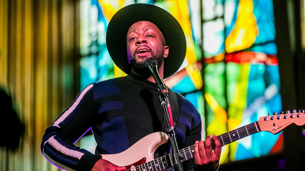Wyclef Jean performed at the Tiny Desk Family Hour at SXSW 2019.