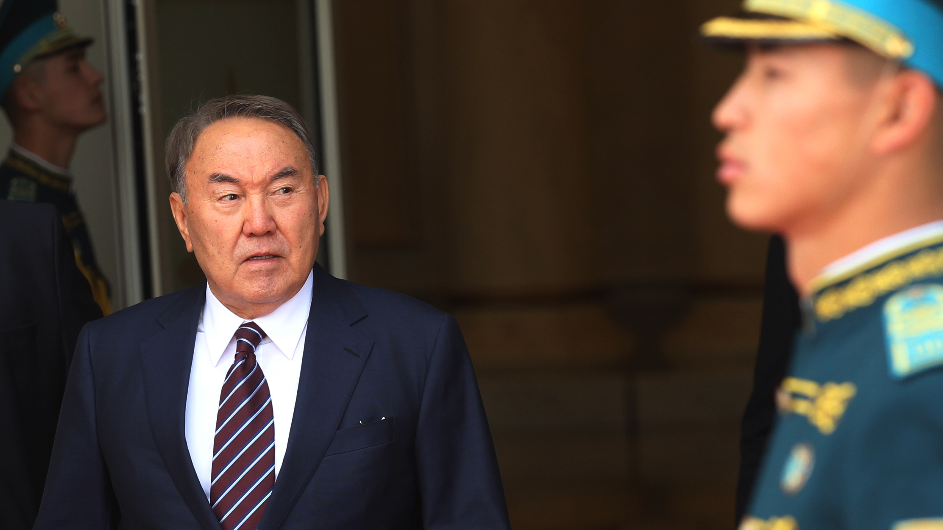 Nazarbayev Resigns As Kazakhstan's President; Was First Elected In 1991