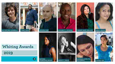 'The Future Of Literature': Whiting Awards Celebrate 10 Emerging Writers