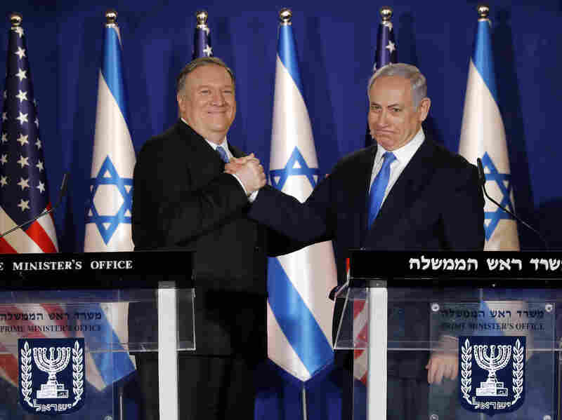 Pompeo boosts Israel's Netanyahu before election