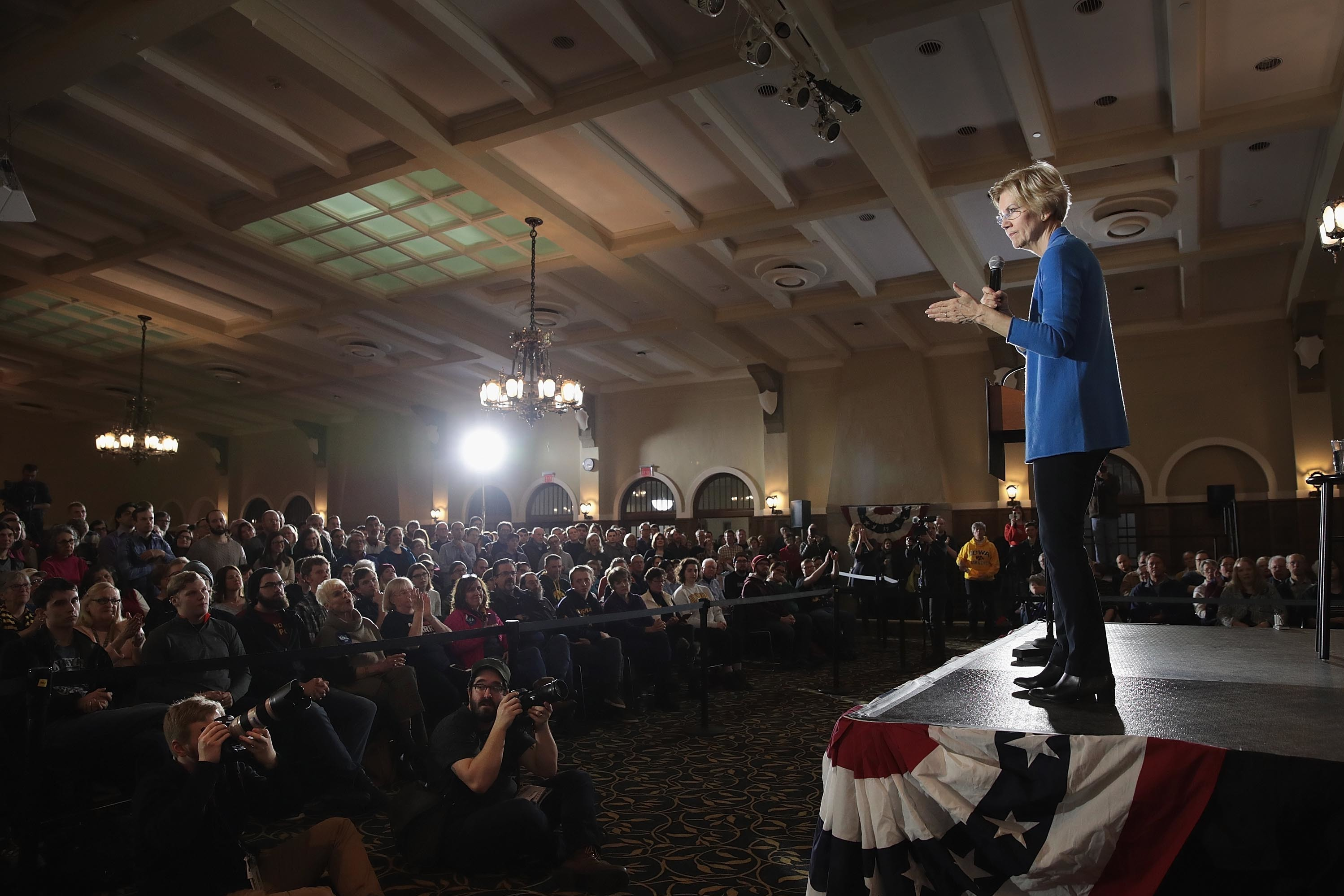 Warren Focuses On Policy, Which Looks Like A Tough Sell With Voters