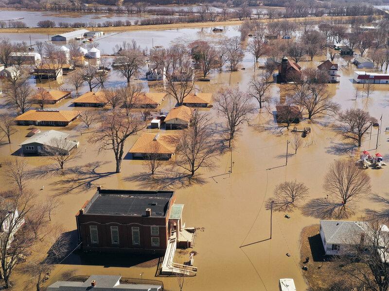 Nebraska Flooding Causes More Than $1 Billion In Damage : NPR