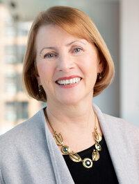 Pam Fessler at NPR headquarters in Washington, D.C., March 19, 2019. (photo by Allison Shelley)
