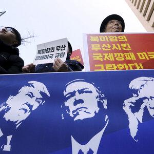 President Trump Announces Halt To 'Additional Sanctions' On North Korea
