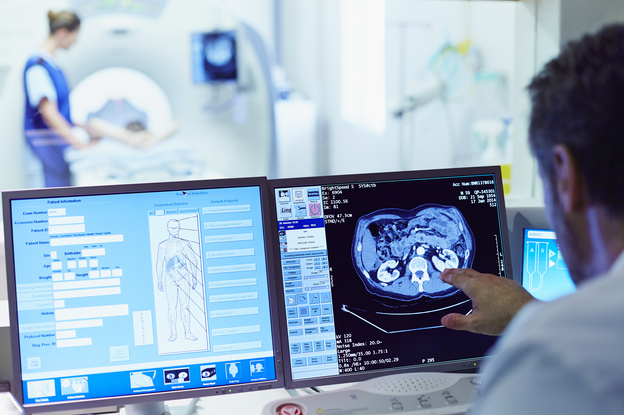 Contrast agent, a drug that enhances CT scans, is sometimes skipped because of concerns about side effects.