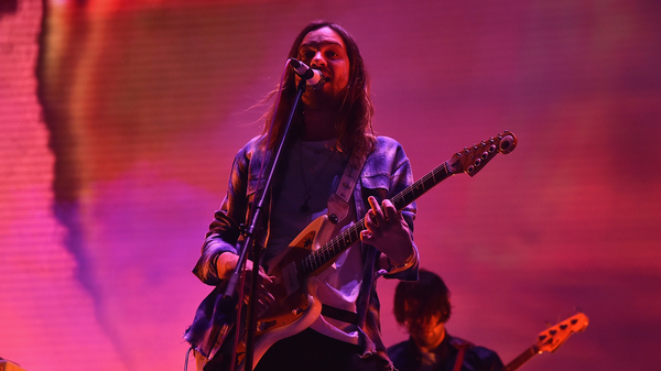 Kevin Parker of Tame Impala performs onstage during the 2017 Panorama Music Festival - Day 2 at Randall