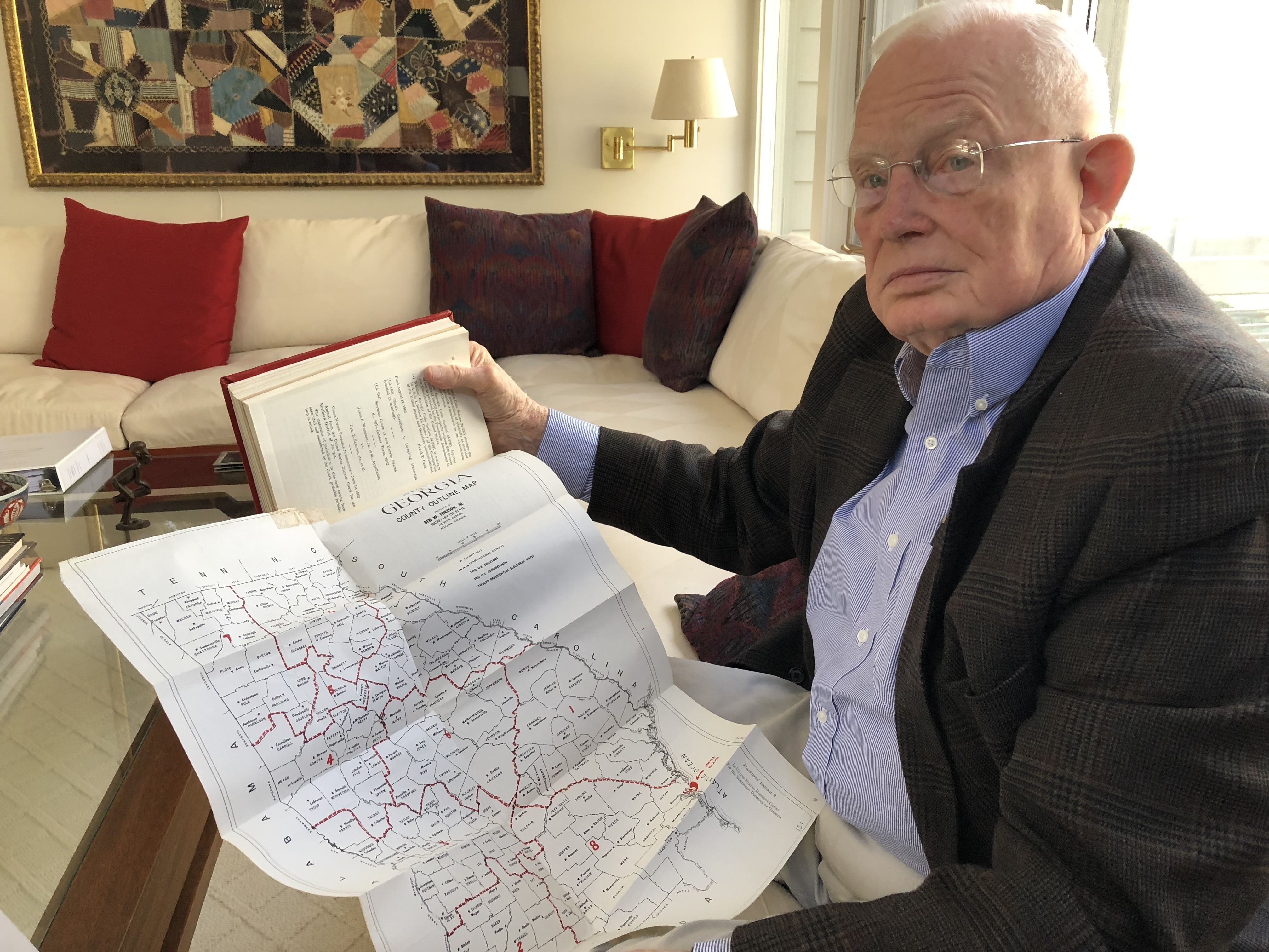 55 Years Later, Lawyer Will Again Argue Over Redistricting Before