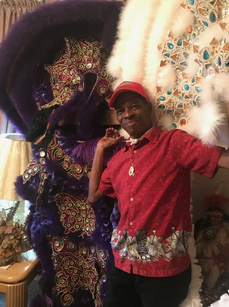 Red Clod Indian School 2020 Christmas Inside 'Indian Red,' The Anthem Of New Orleans' Mardi Gras Indians