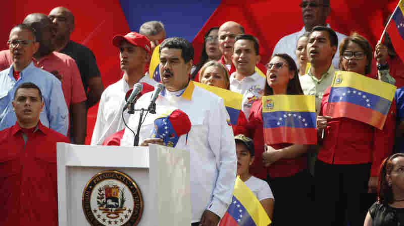 Venezuela's Maduro Faces Mounting Pressure To Quit, Yet He Persists