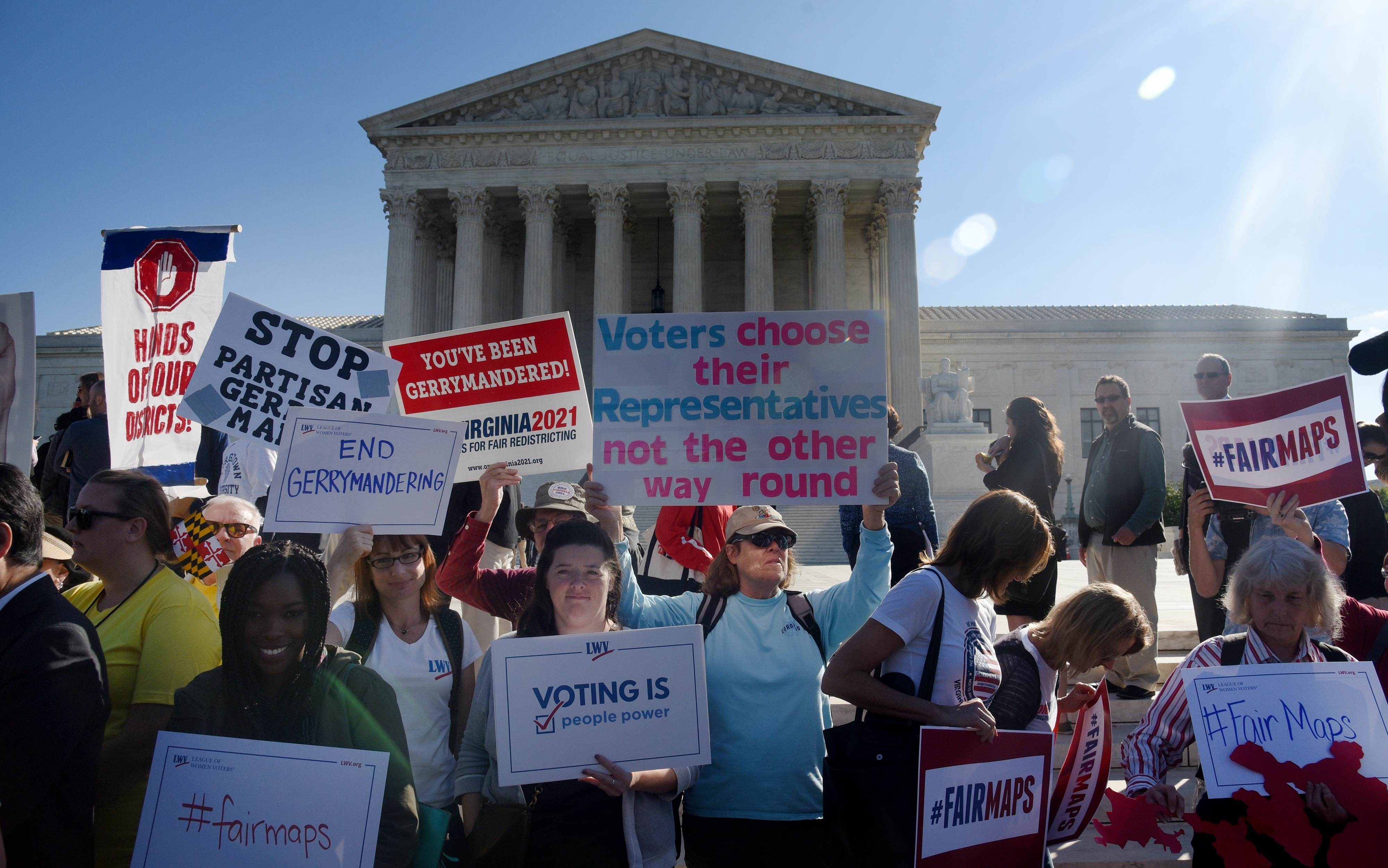 The Supreme Court Takes Another Look At Partisan Redistricting
