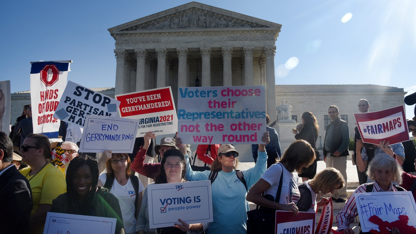 Supreme Court To Determine Whether Partisan Redistricting Is Constitutional  : NPR