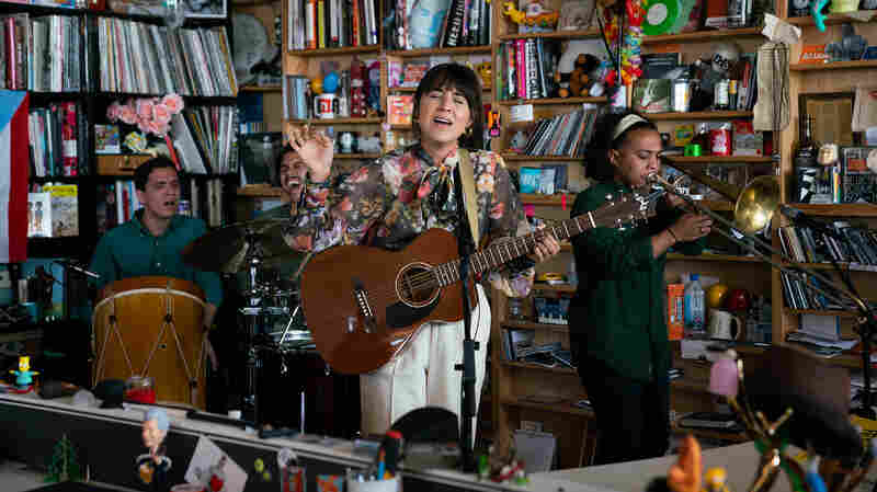 Andrea Cruz: Tiny Desk Concert