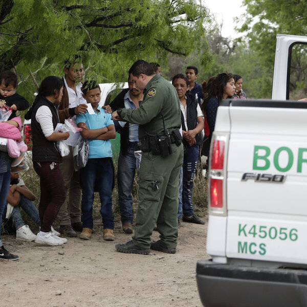 Immigration System At The 'Breaking Point,' Homeland Security Official Warns