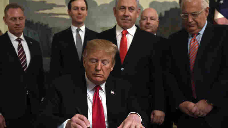 Opinion: Trump's Recognition Of Israel's Claim To Golan Only Creates New Problems