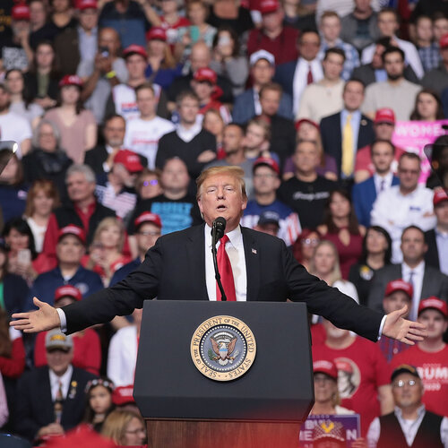 Trump Takes A Post-Mueller Victory Lap At Michigan Rally