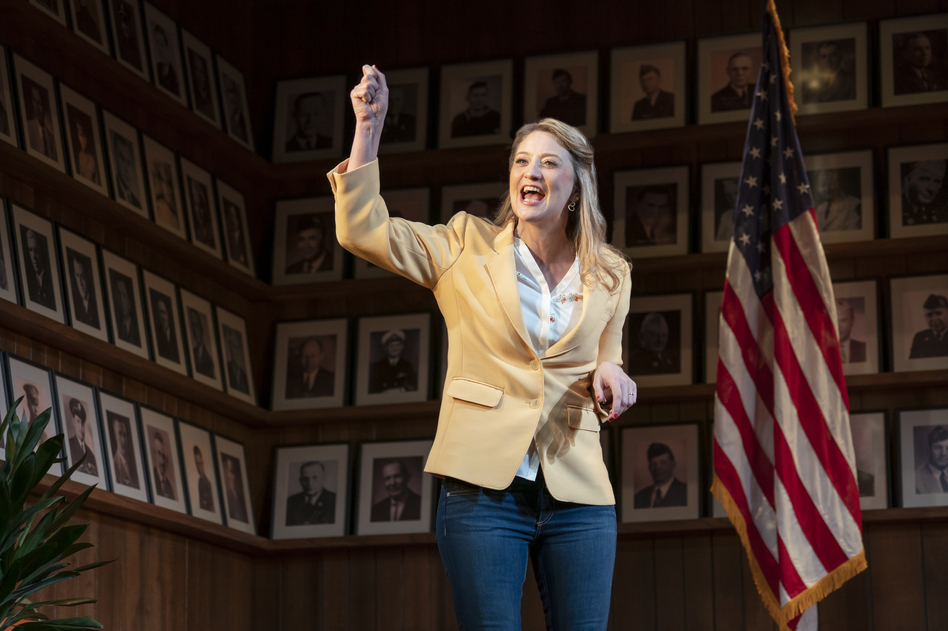 Heidi Schreck's <em>What the Constitution Means to Me </em>opens on Broadway on Sunday. (Joan Marcus/Matt Ross Public Relations)