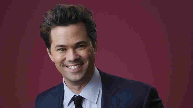 Andrew Rannells poses for a portrait during the 2019 Winter Television Critics Association Press Tour, on Jan. 31, 2019, in Pasadena, Calif.