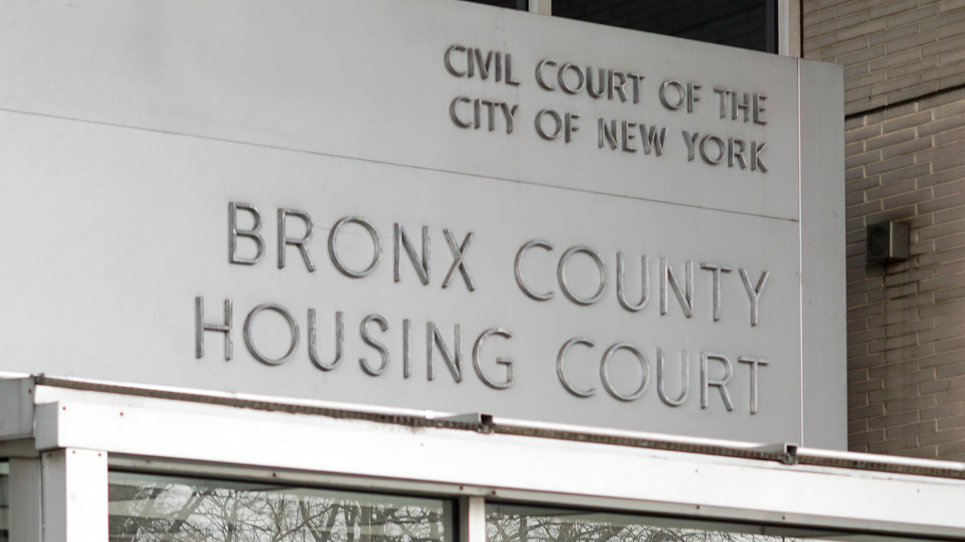 'Someone To Speak For You': Low-Income Tenants Get Lawyers For Housing Court