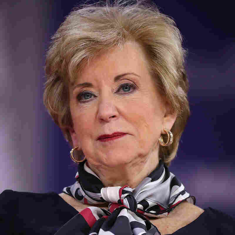 Linda McMahon Leaving Donald Trump Administration