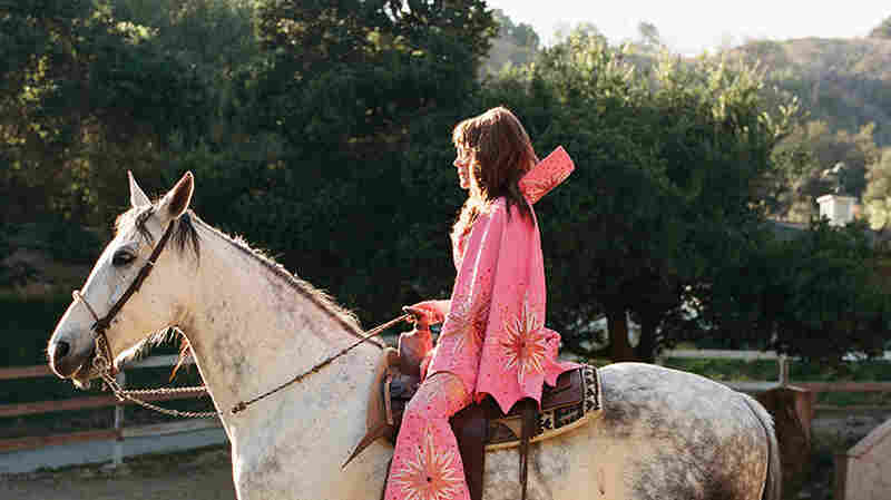 Jenny Lewis Finds A 'Beautiful, Funky Way To Grieve'