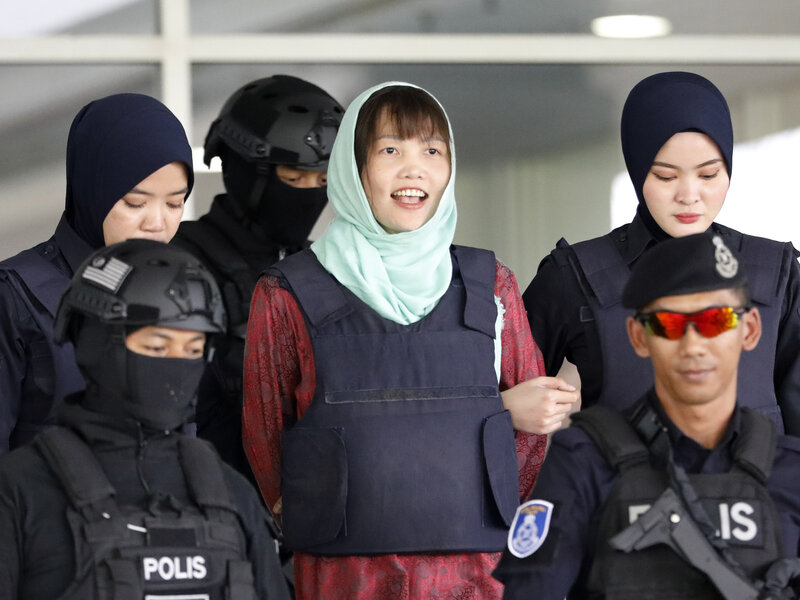 Kim Jong Nam Death Accused Killer Pleads Guilty To Lesser Charge Npr