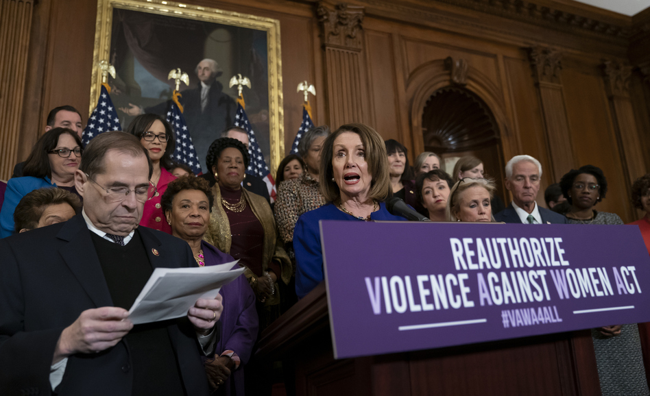 The Democratic additions to the Violence Against Women Act exposed fault lines within the GOP as it wrestles with how to regain support among women. (J. Scott Applewhite/AP)