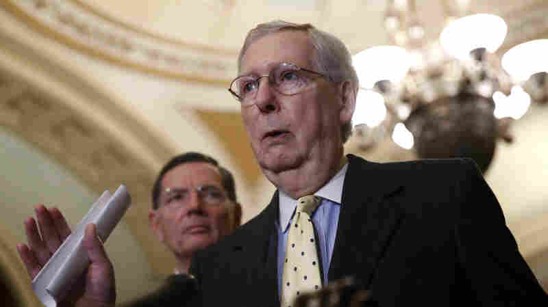 Senate Rewrites Rules To Speed Confirmations For Some Trump Nominees