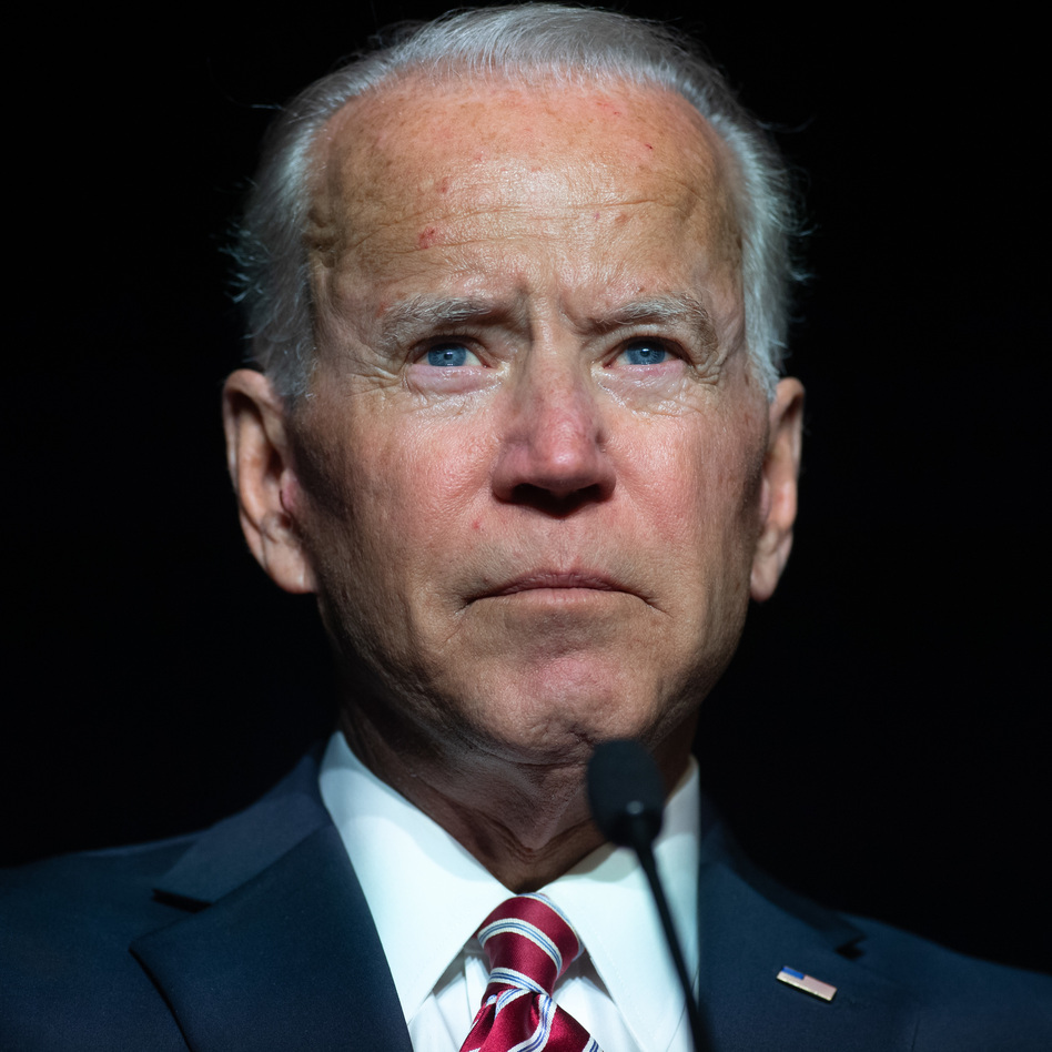 Former Vice President Joe Biden speaks during a Democratic event in Dover, Del., on March 16, 2019. (Saul Loeb/AFP/Getty Images)