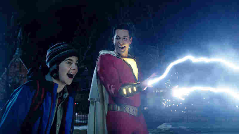 With 'Shazam!' DC Superhero Movies Bring The Thunder ... And The Lightening Up