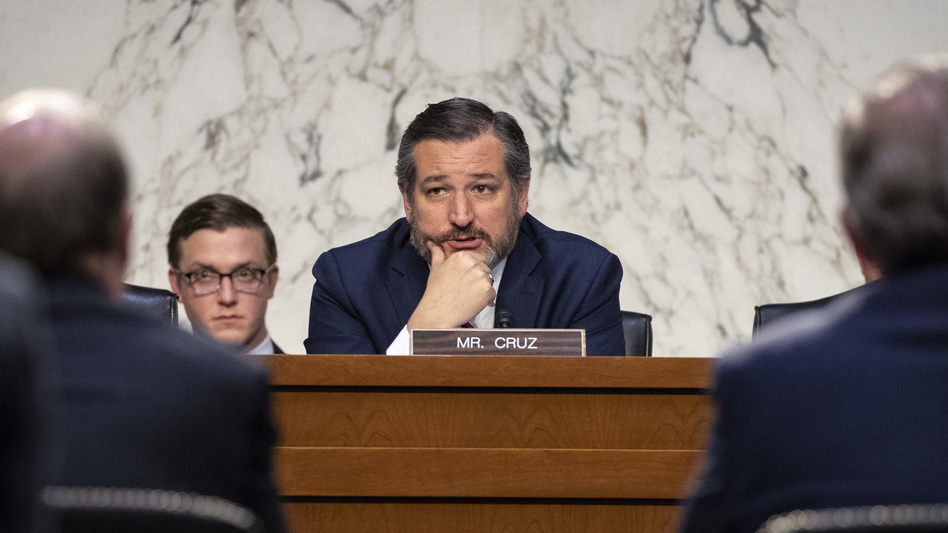 Sen. Ted Cruz, R-Texas, is suing the Federal Election Commission to overturn a rule regulating personal loans to political campaigns. (Drew Angerer/Getty Images)
