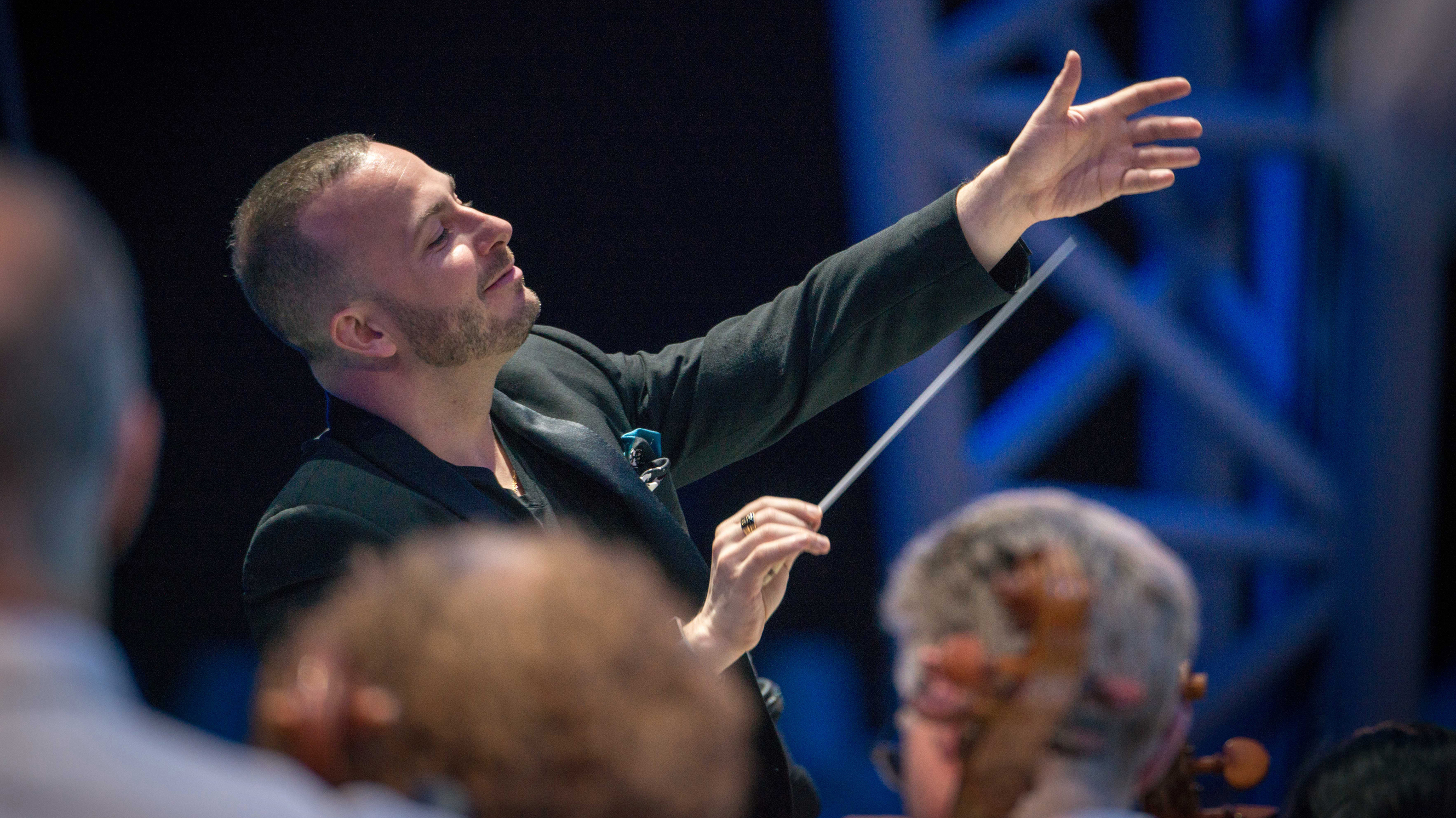 For Conductor Yannick Nézet-Séguin, Making Music Is 'Like A Religious Call'