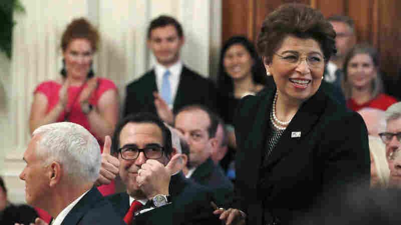 Trump Wants U.S. Treasurer Jovita Carranza To Lead Small Business Administration