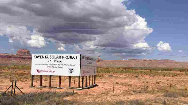 On The Navajo Reservation, Turning From Coal To Renewables