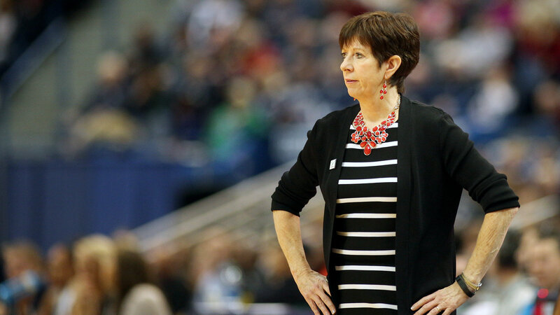 Boys Dont Read Enough >> We Don T Have Enough Women In Power Basketball Coach Muffet Mcgraw
