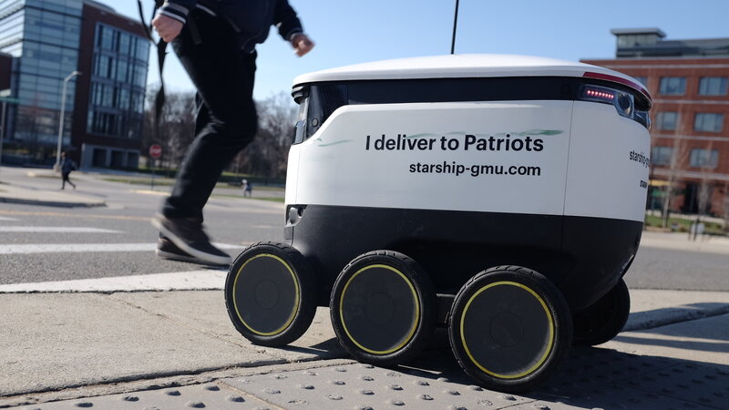 The Robots Are Here: At George Mason University, They ...