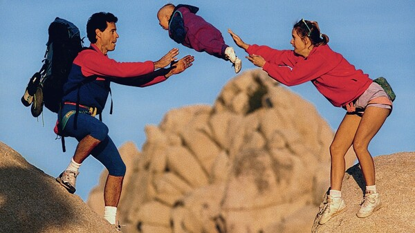 The Flying Baby From A Famous 1995 Patagonia Catalog Photo Is All Grown Up