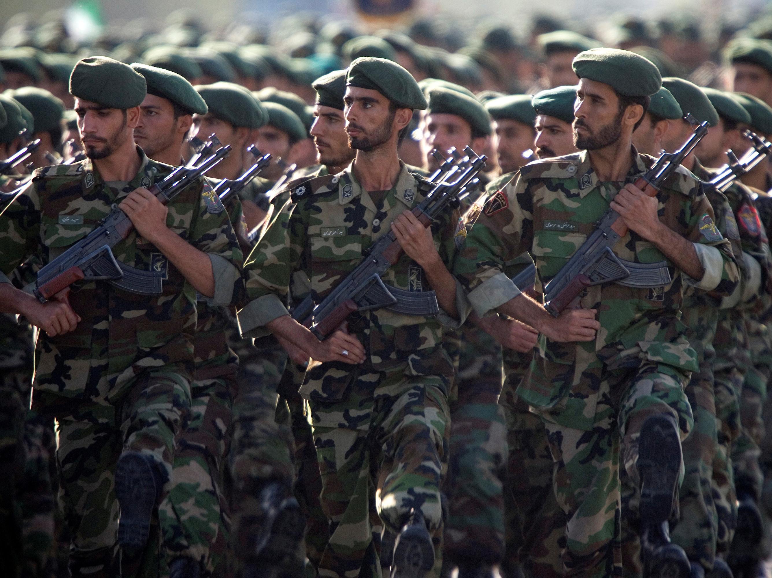 U.S. Labels Iran's Revolutionary Guard As A Foreign Terrorist Organization