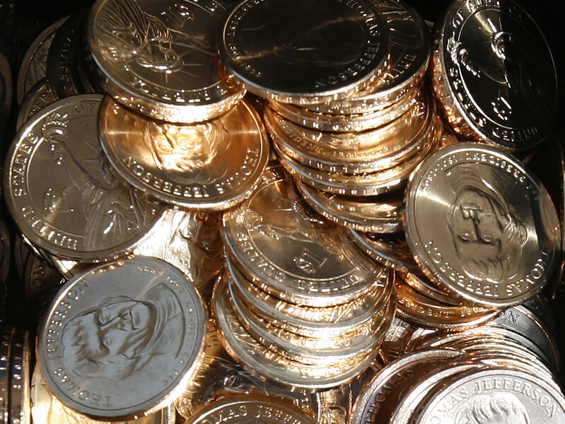 GAO Says Replacing Dollar Bills With Coins Could Cost