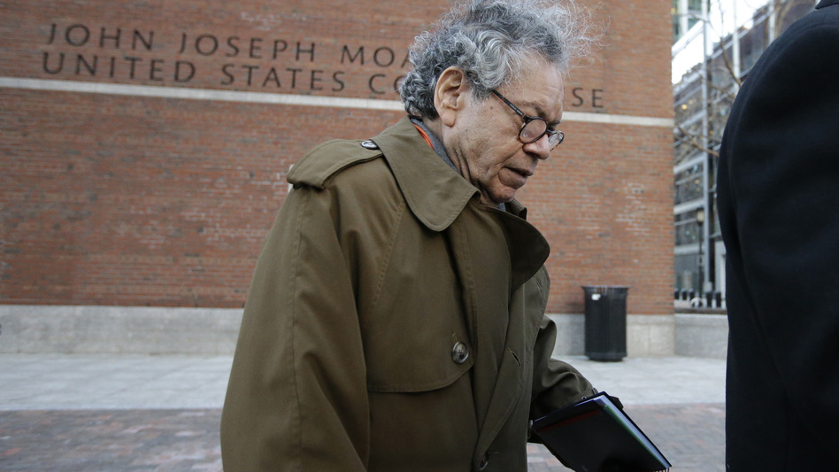 Insys Therapeutics founder John Kapoor departs federal court in Boston earlier this year. (Steven Senne/AP)