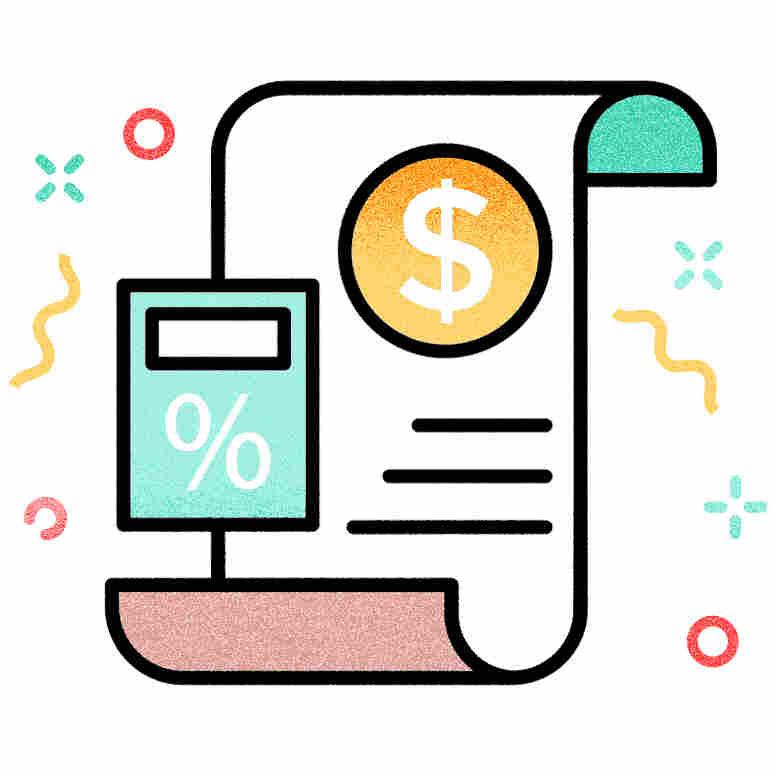 Icon: Estimated bill