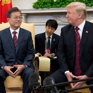 South Korean Leader Looks To Jump-Start U.S.-North Korea Talks After Failed Summit