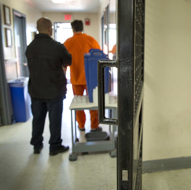 Opioid Detox Is Now A Prime Role Of County Jails : NPR