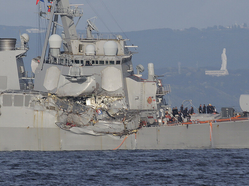 Naval Officers Won't Face Criminal Charges In Deadly USS